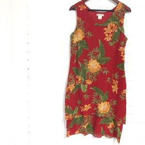 Tommy Bahama 14 Silk Dress
